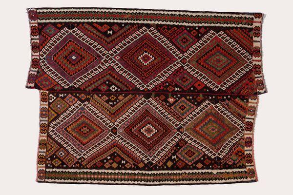 Vintage Anatolian Kilim Rug For At