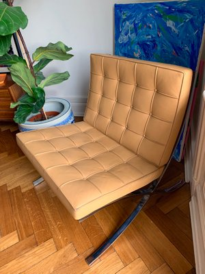 Barcelona Lounge Chair By Ludwig Mies Van Der Rohe For Knoll