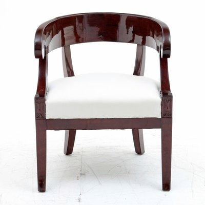 Merveilleux Neoclassical French Armchair, 1830s