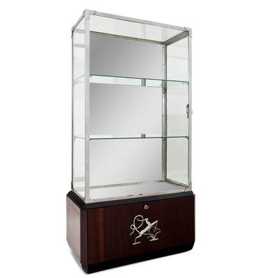 Art Deco Glass Display Cabinet 1930s, Glass Display Cabinet Malaysia