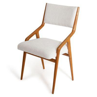 Mid Century Italian Chairs, Set Of 6 1