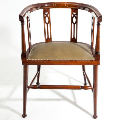Antique English Desk Chair 1900s