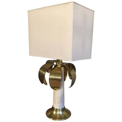 Palm Tree Table Lamp From Spark 1970s