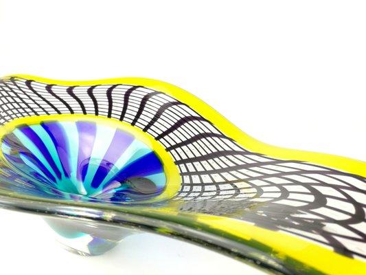 Reticello Schale aus Muranoglas von Valter Rossi, 2019 bei