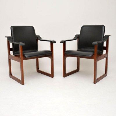 Dänische Vintage Sessel 2er Set Bei Pamono Kaufen