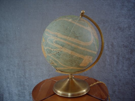 Globe With Internal Lighting From Perrina 1940s