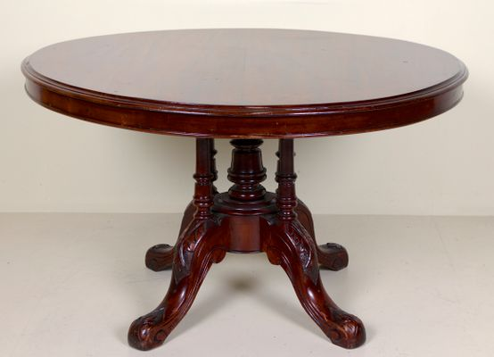 Delicieux Antique Mahogany Dining Table