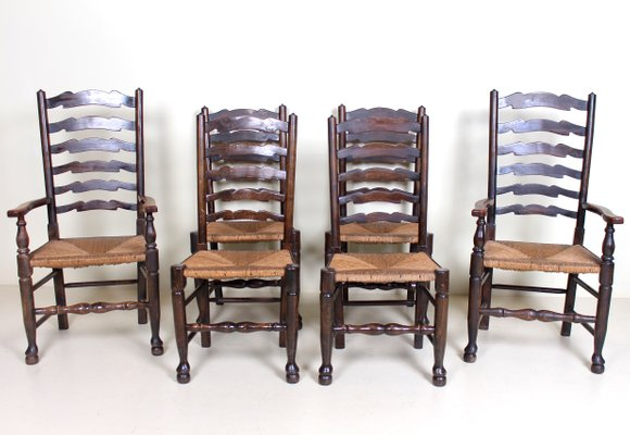 Terrific Antique Oak Dining Chairs Set Of 6 Caraccident5 Cool Chair Designs And Ideas Caraccident5Info
