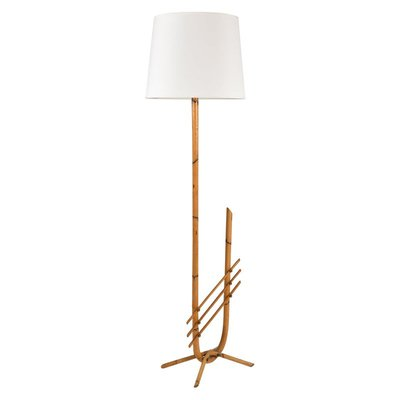 Bamboo Floor Lamp 1950s For At Pamono