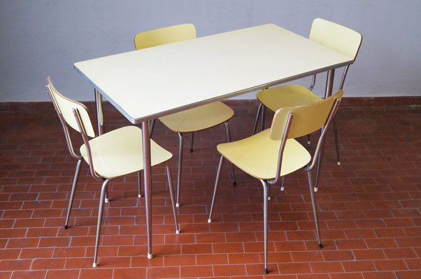 Beau Formica Dining Set, 1970s