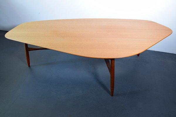 Table Basse En Forme De Haricot En Teck Par Svante Skogh Suede