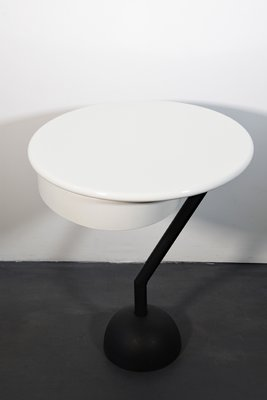 Postmoderne par d'Appoint MazzeiItalie1983 Blanche Table Laquée Valerio OPwkuXTlZi