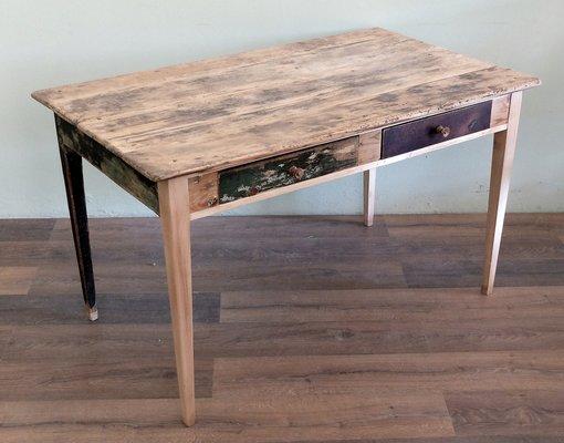 Mesa de cocina extensible antigua