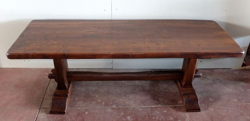 Elm Dining Table 1980s