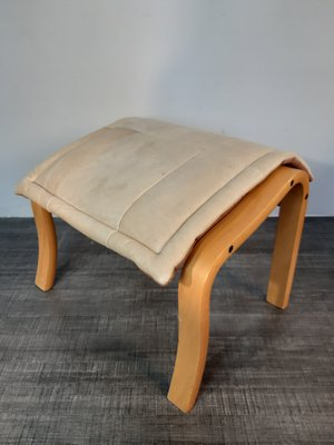 Super Cantilever Leather Reclining Chair Ottoman Set From Rybo 1980S Creativecarmelina Interior Chair Design Creativecarmelinacom