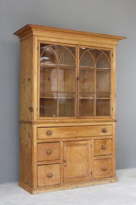 Antique Glazed Pine Dresser For At