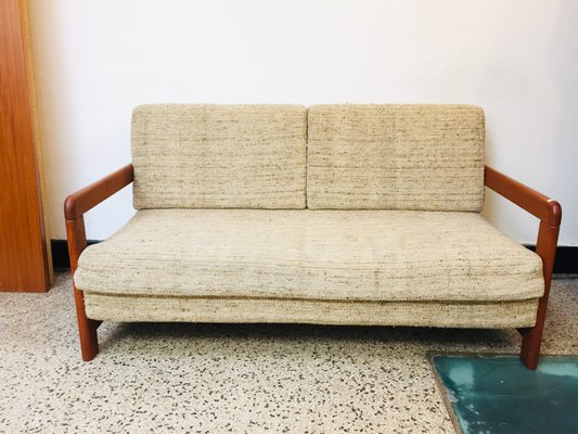Pleasing Mid Century Teak Sofa Daybed Alphanode Cool Chair Designs And Ideas Alphanodeonline