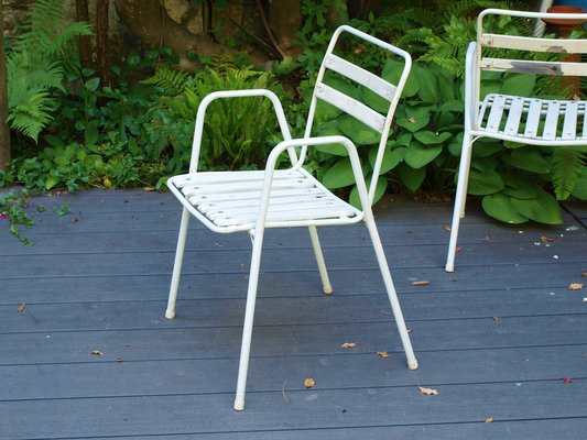 Miraculous Garden Chairs From Emu 1960S Set Of 4 Squirreltailoven Fun Painted Chair Ideas Images Squirreltailovenorg