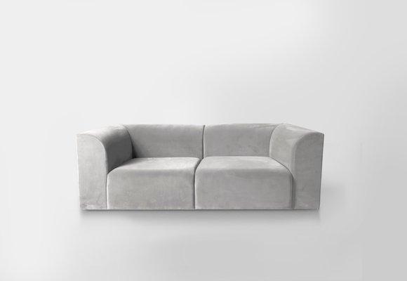 Peachy Archi 2 Seater Sofa By Artefatto Design Studio For Secolo Machost Co Dining Chair Design Ideas Machostcouk