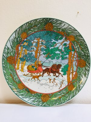 Winter Forest Decorative Plate By K Blume For Villeroy Boch
