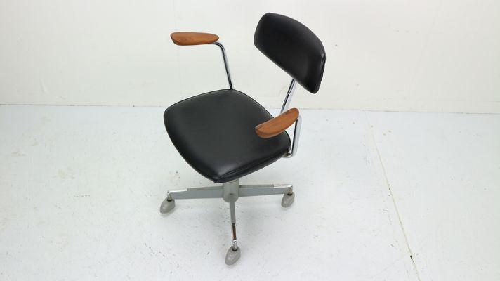 Hag Sedie Per Ufficio.Sedia Da Ufficio Nera Di Hag Norvegia Anni 60