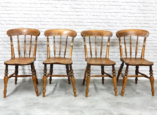 Antique Kitchen Chairs Set Of 4