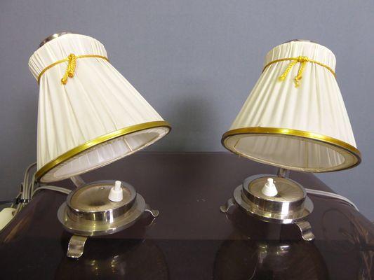 Art Deco Tischlampen 1930er 2er Set