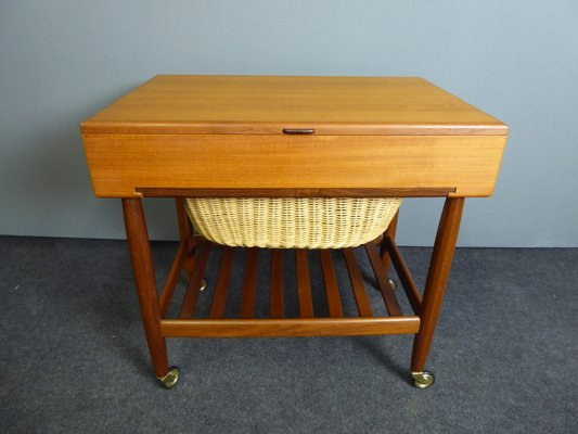 Vintage Sewing Table By Ejvind