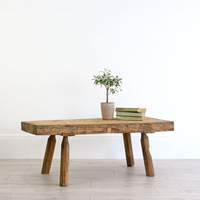 Amazing Primitive Early 19Th Century Coffee Table Machost Co Dining Chair Design Ideas Machostcouk
