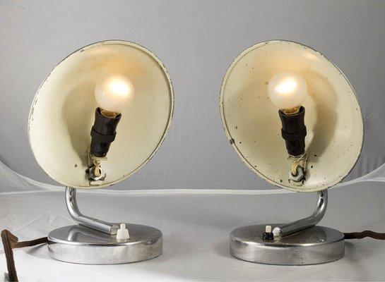 Art Deco Tischlampen 2er Set