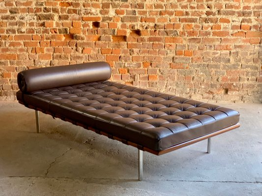 Wondrous Leather Barcelona Couch By Mies Van Der Rohe For Knoll 1990S Unemploymentrelief Wooden Chair Designs For Living Room Unemploymentrelieforg