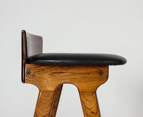 Awe Inspiring Vintage Bar Stools By Erik Buch Set Of 3 Andrewgaddart Wooden Chair Designs For Living Room Andrewgaddartcom