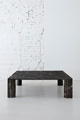 Nero St Laurent Marble Coffee Table by Michael Anastassiades for Salvatori