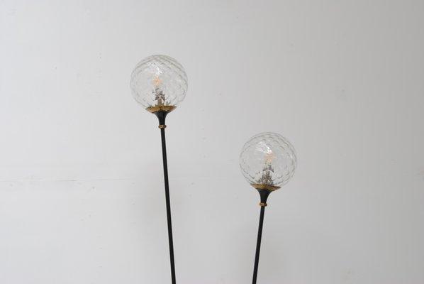 stehlampe mit zwei leuchten 1960er 3