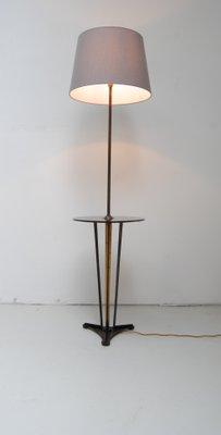 stehlampe mit beistelltisch 1950er 2