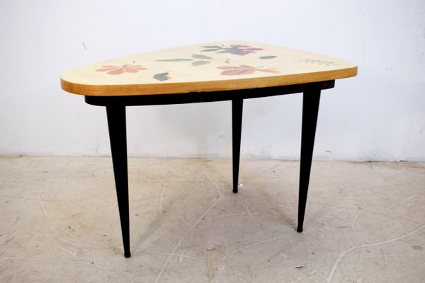 Astonishing Low Wooden Tripod Coffee Table From Anzani 1950S Download Free Architecture Designs Scobabritishbridgeorg