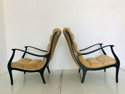 Vintage Mitzi Lounge Chairs By Ezio Longhi For Elam, 1950s, Set Of 2 3