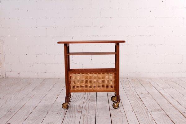 Small Teak Side Table.Small Teak Side Table From Opal Mobel 1950s