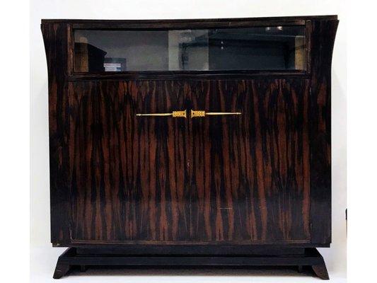 Art Deco Möbel Set aus Palisander von Jacques-Émile Ruhlmann, 1920er