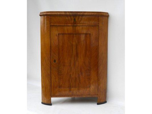 Credenza ad angolo Biedermeier, anni \'30 in vendita su Pamono
