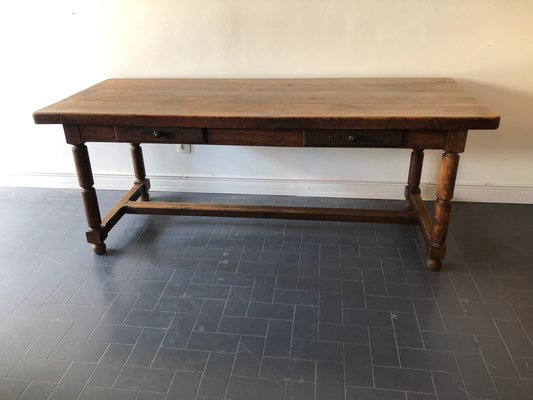 Genial Vintage French Farmhouse Table