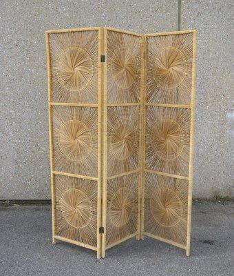 Fine Vintage French Straw Room Divider 1970S For Sale At Pamono Interior Design Ideas Tzicisoteloinfo