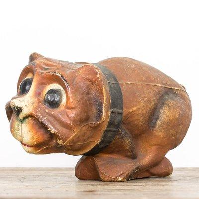 Vintage Dog Candy Jar, 1930s