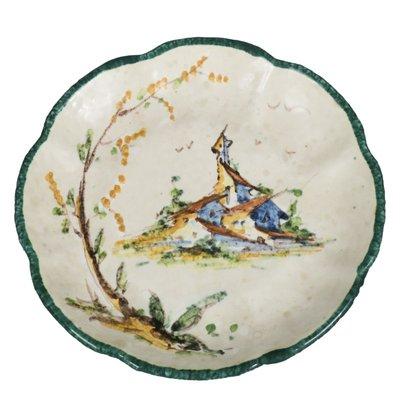Italienische Teller Aus Keramik Von Mga Albisola 1930er 7er Set