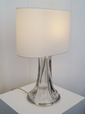 Cristal Bureau En Lampe De Daum1950s W29EDIH