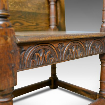 Awesome 18Th Century Oak Monks Bench Interior Design Ideas Ghosoteloinfo