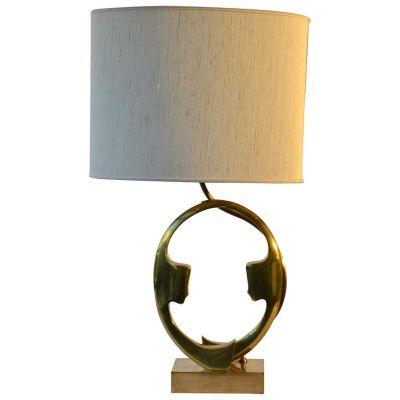 de bronce Willy D'Aroaños Silhouette mesa Lámpara 70 de de gybIY7vf6m