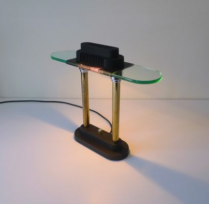 Postmodern Table Lamp by Robert Sonneman for George Kovacs, 1980s