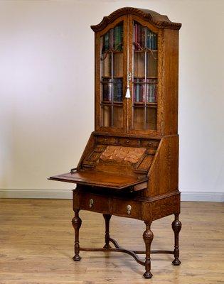 Bücherregal Oder Schreibtisch Aus Eichenholz Mit Innenbereich