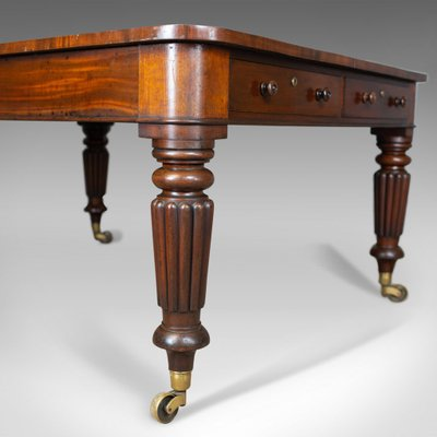 Antique English Library Table, 1835